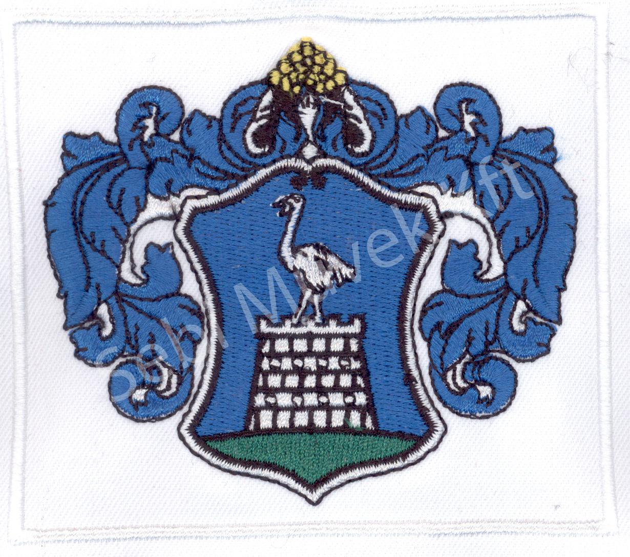 Címer hímzés