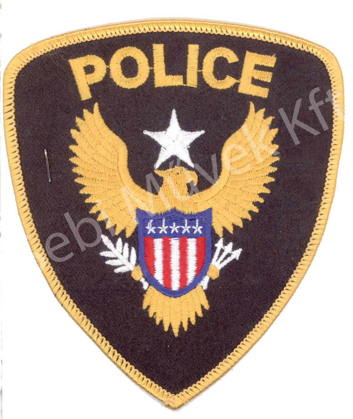 Police felvarró