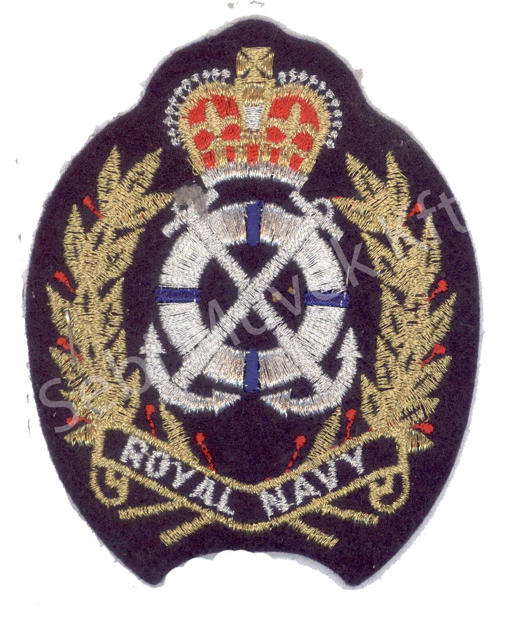 Royal Navy felvarró