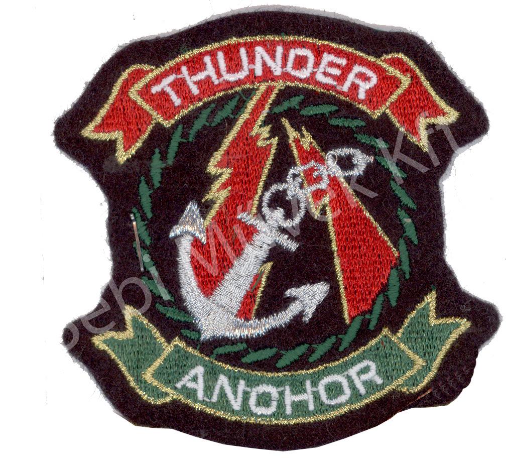 Thunder anchor felvarró